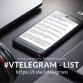 #VTELEGRAM - LIST